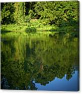 Still Water On The Potomac River Canvas Print