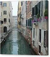 Still Waters In Venice Italy Canvas Print