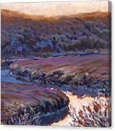 Stillness At Twilight Canvas Print