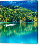 Stillness On The Kenai Canvas Print