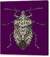 Stink Bug Bedazzled Canvas Print