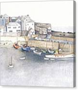 St.ives Cornwall England Canvas Print