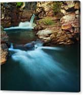 St.mary Falls Canvas Print