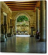 Stoa Of Attalos Canvas Print