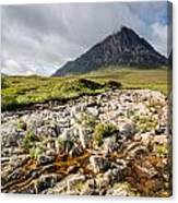 Stob Dearg Mountain Canvas Print