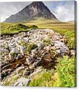 Stob Dearg Peak Canvas Print