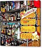 Stocked Bar At Jax Canvas Print