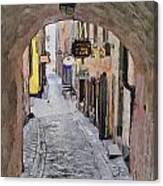Stockholm 12 Canvas Print