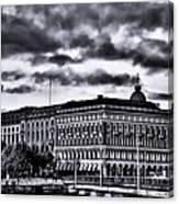 Stockholm Bw V Canvas Print