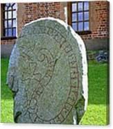 Stockholm History Stone Canvas Print