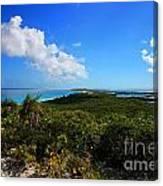 Stocking Island Exuma Bahamas Canvas Print