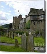 Stokesay Castle 2 Canvas Print
