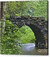 Stone Arch Bridge, China Canvas Print