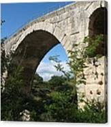 Stone Arch Of Pont St. Julien Canvas Print