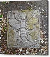 Stone Bee In Jim Thorpe Pa Canvas Print