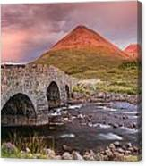 Stone Bridge Over Sligachan Canvas Print
