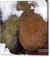 Stone Cold Canvas Print