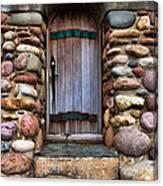Stone Door Canvas Print