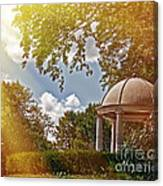 Stone Gazebo Canvas Print