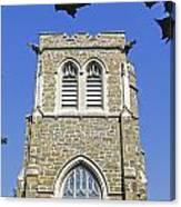 Stone Gothic Church Canvas Print