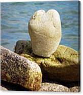 Stone Heart  Canvas Print