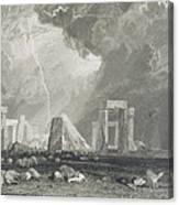 Stone Henge Canvas Print