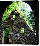 Stone House Doorway Canvas Print