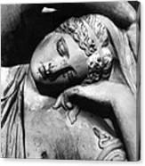 Stone Lady Canvas Print