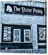 Stone Pony Cool Side View Canvas Print