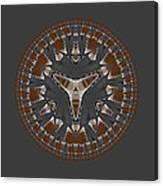 Stone Ridge Mandala Canvas Print