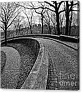 Stone Road And Path Canvas Print