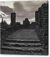 Stone Ruins At Old Liberty Park - Spokane Washington Canvas Print