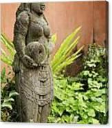Stone Statue In Bali Indonesia  Canvas Print