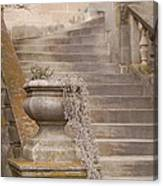 Stone Steps National Cathedral Canvas Print
