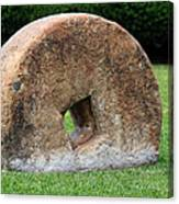 Stone Wheel Canvas Print