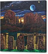 Stonehenge At Cathedral Rock Canvas Print