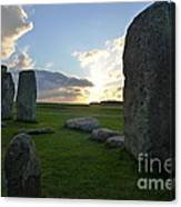 Stonehenge At Dusk Canvas Print