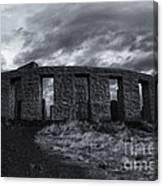 Stonehenge Of America Canvas Print