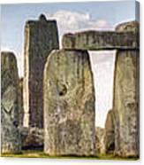 Stonehenge Panorama Canvas Print
