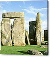 Stonehenge, Wiltshire, England, United Canvas Print