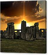 Stonehenge Wiltshire Uk Canvas Print