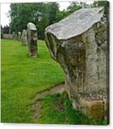 Stones At Avebury Canvas Print