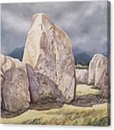 Stones Of Castlerigg Canvas Print