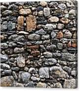 Stones Wall Canvas Print