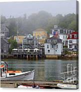 Stonington Harbor 2 Canvas Print