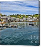 Stonington In Maine Canvas Print