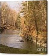 Stony Brook Canvas Print