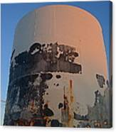 Storage Container Moon Coolidge Arizona 2004 Canvas Print