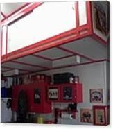 Storage Loft In Studio Canvas Print