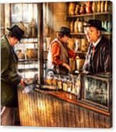 Store - Ah Customers Canvas Print